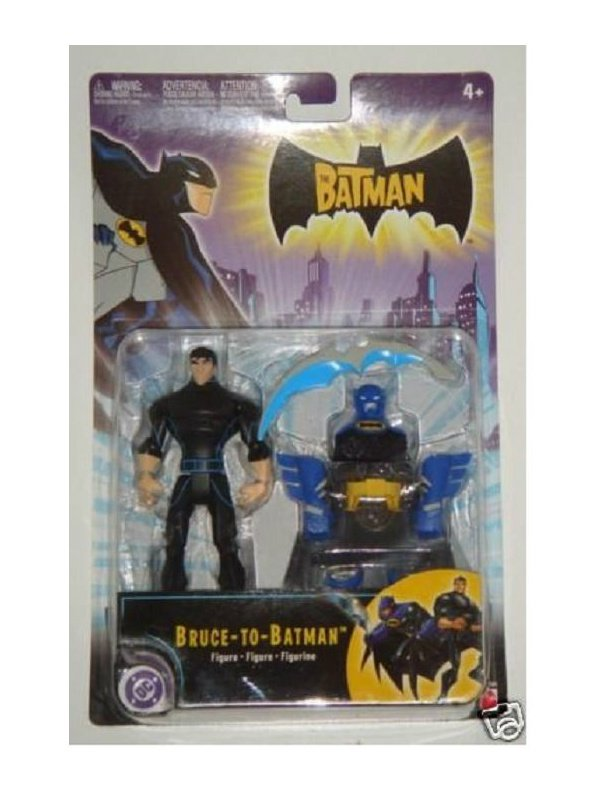 Bruce-to-Batman Animated Series Figure BTAS, Mattel '04| DC Collectibles