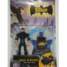 Bruce-to-Batman Animated Series Figure BTAS| Mattel 2004 Batman Dark Knight - DC Collectibles