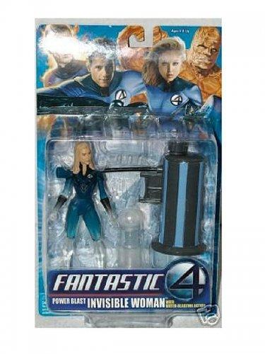 "Marvel Legends: Fantastic 4 > Invisible Woman Power Blast Sue Storm 6"" Series 3 Action Figure"