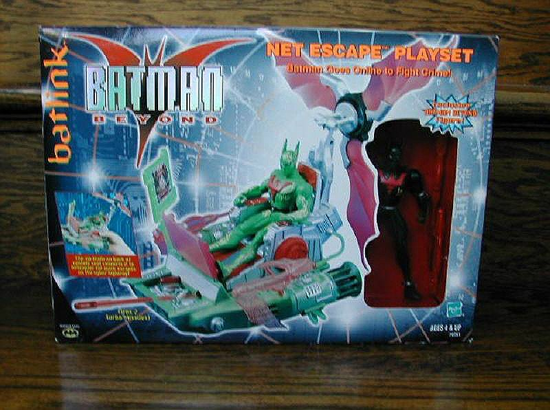 Hasbro 70781: Batman Beyond TAS Net Escape Batmobile + Figure, DC Animated Series Playset