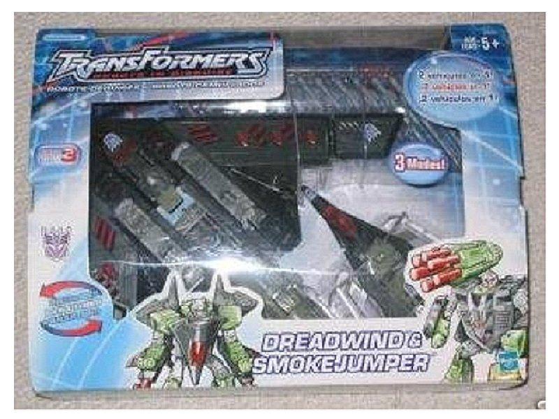 G2 (Dreadwing/Megatron) Dreadwind Smokejumper MISB Target 26562 Hasbro 2002 Transformers RID