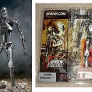 T2 Terminator T-800 Endoskeleton Figure, McFarlane Movie Maniacs 5 | Stan Winston | Spawn