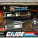 1984 SHARC Gi Joe 25th Night Specter & Grand Slam (Silver Pads) set 65489 Hasbro