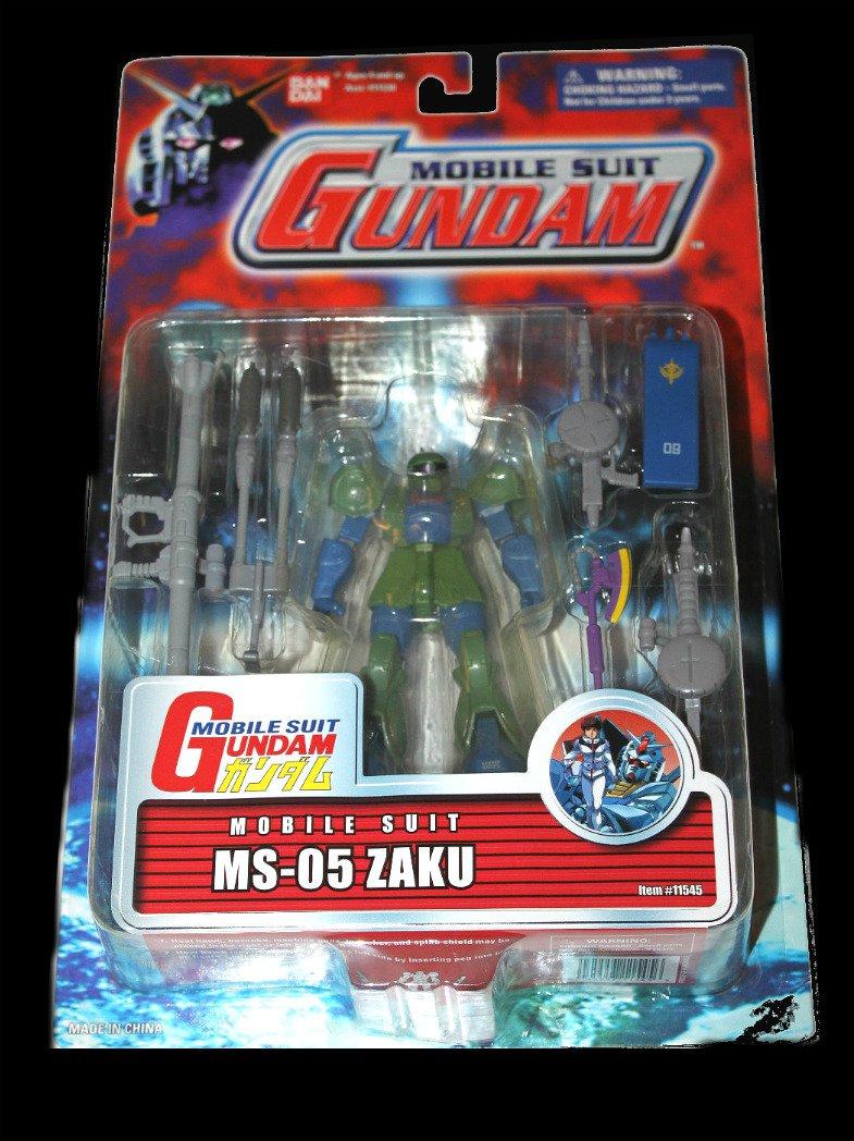 """Gundam 0079 MS-05 Zaku Limited Msia Bandai 4.5"""" AF (DCC11545) [null]"""