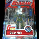 Gundam 0079 MS-05 Zaku I MSIA Bandai Mobile Suit Action Figure | DC Collectibles