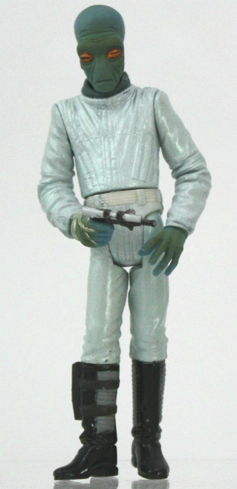 Star Wars: Power of the Jedi Ellorrs Madak Duros Action Figure, Mos Eisley Cantina Bar Alien FC #1