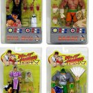 Set 4x Sota Street Fighter Round1 2P 2004 SDCC 15th Evil Ryu Sagat Sodom Chun Li Legends 6""