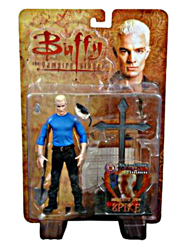 Buffy Spike Diamond PX Btvs Vampire Slayer 6in Action Figure, Moore Collectible � James Marsters