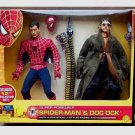 "2004 Marvel Spider-Man Movie 12"" Doc Ock 2-PK Super Poseable 