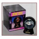 Starship Enterprise NCC-1701 Lighted Snowglobe, Star Trek Glitter Globe Boxed RARE Hallmark