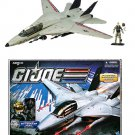 2011 GI Joe Skystriker Combat Jet + Capt. Ace 30th Anniversary POC (1983 Vehicle) 3.75"