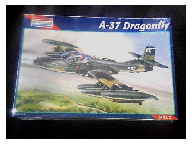 Monogram 1/48 Cessna A-37 Dragonfly model kit [sealed] 25-5486 | A-10 Thunderbolt Warthog-Vietnam