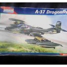 1:48 Cessna A-37 Dragonfly Plastic Model Kit, Sealed 5486 Monogram (A-10 Warthog, Vietnam War Plane)