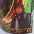 "LotR ""Sam"" Samwise Hobbit Sean Astin-Toybiz 2001 Lord of the Rings 6in figure 81021"