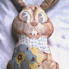 Vtg Fabric Pattern Billy Bunny Stuffed Toy|Disney Brehr Rabbit|James Crighton, David Cory