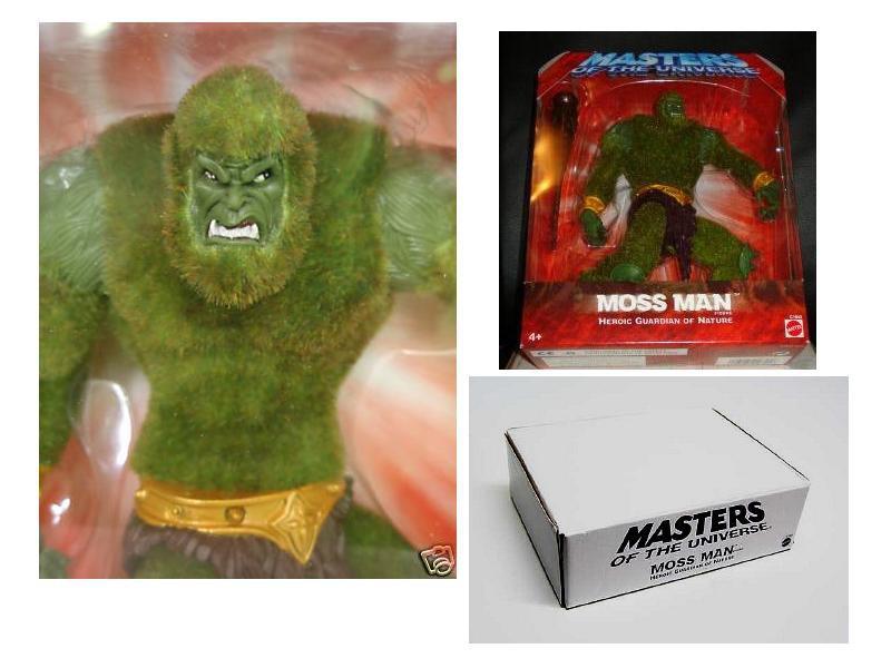 Moss Man AF MOTU 200x He-Man Mattel LE Mail Away + bonus