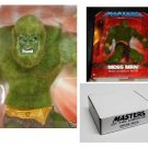 MOTU 200x Exclusive Moss Man 2003 Mail Away Figure + Bonus, Flocked Classic 2002 Masters Universe