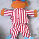 "1996 Tyco Sing Snore Ernie-Sesame Street 16"" Plush Doll | Jim Henson Muppets"