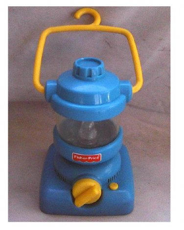 Fisher-Price Camping Lantern (Nature Sounds+Light)   Kid Tough Explorers Pretend Play Action Toy