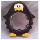 Bambina Japan|1984 Penguin|Percussion Tambourine PP1016|Vintage 80s Kids Play Toy