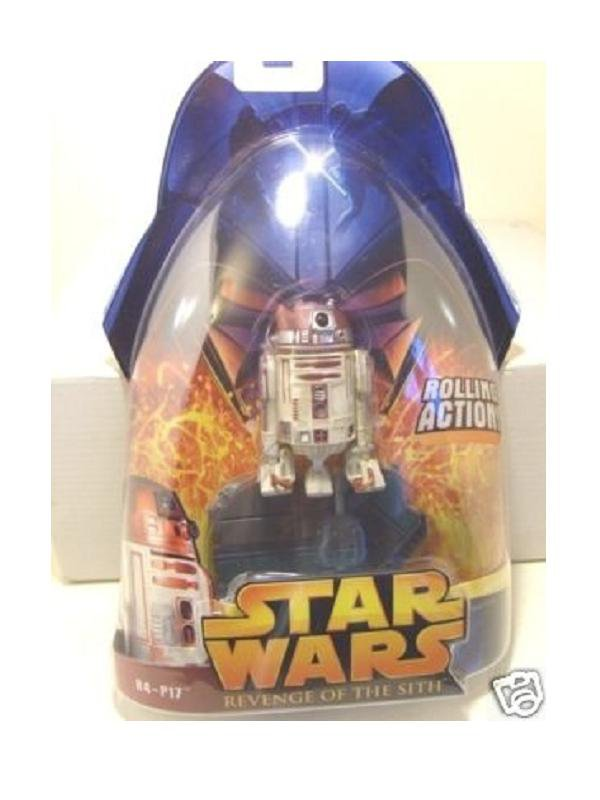 Hasbro Star Wars 86760: R4-P17 (Obi-Wan's Droid) RotS #64 Revenge of the Sith 2005 MOC