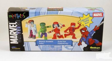 Marvel Minimates Box Set 4-Pack MU (Avengers), Diamond Select Art Asylum