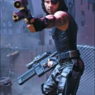 Escape from NY/L.A. Kurt Russell Snake Plissken Movie Maniacs action figure McFarlane Neca (MOC)