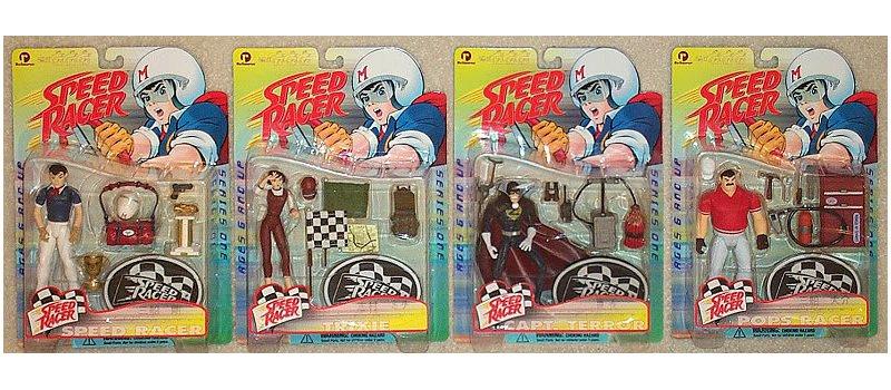 Speed Racer Series 1 Complete Set-1999 ReSaurus Toys-Anime Figure Lot [null]