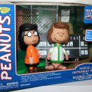 Peanuts Marcie & Patty-Charlie Brown All Star Game Baseball Figurine Playset, Memory Lane 2003 HTF