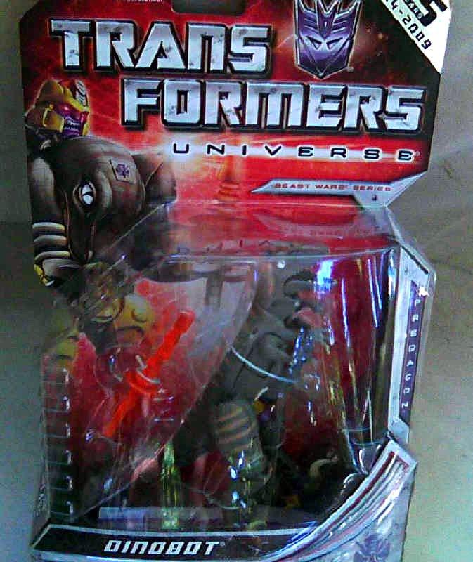 Beast Wars Dinobot (Henkei Classics) 2009 Hasbro Transformers Universe 83898_Generations 25th