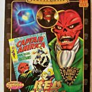 "Red Skull (Mego Style) Retro 8"" Marvel Famous Cover Series ToyBiz Doll Figure PX Avengers Villain"