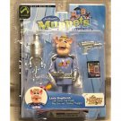 Link Hogthrob Muppet Show 6in Action Figure + Swine Trek Model, Palisades 2003 Jim Henson