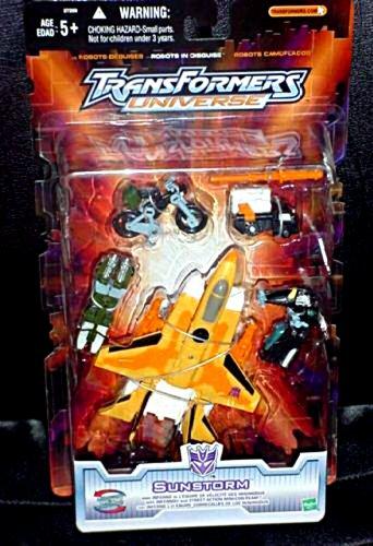 Transformers Universe Sunstorm [Powerlinx Thrust Error] w/ Inferno Minicons, Walmart Exclusive