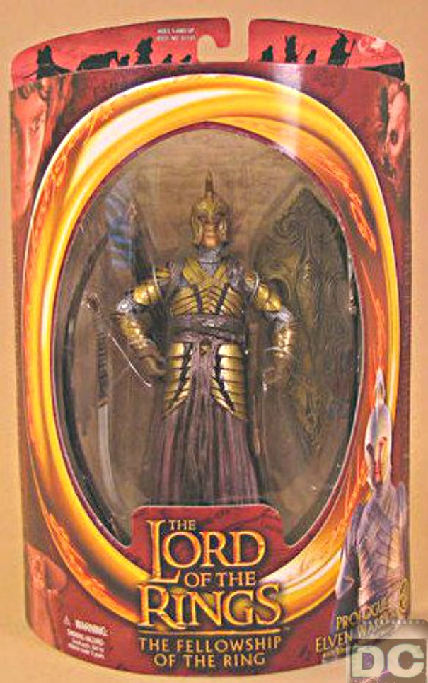 "ToyBiz LotR #81148: Prologue Elven Warrior-Arrow Archer-6"" AF-2002 Lord of the Rings"