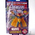 "Marvel Legends Vision (Series VII 7) + Avengers Comic • Toybiz 2004 - Marvel Universe 6"" 71121"