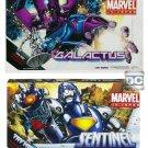 "Marvel Universe Masterworks 19"" Galactus/Silver Surfer, Wolverine/Sentinel Hasbro 3.75"" Figures Set"