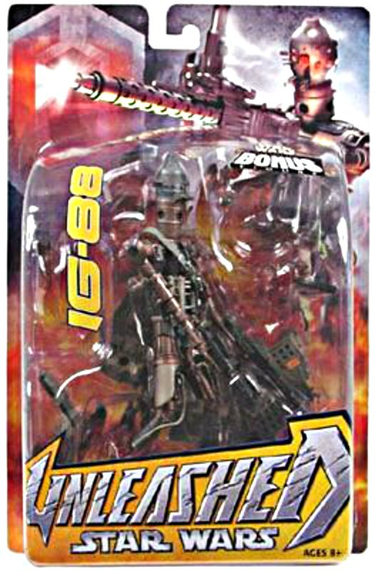 IG-88 Unleashed Series AF, Star Wars ESB Bounty Hunter_ 1/10 statue [ArtFX] droid + WotC Miniature