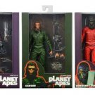 "Planet of the Apes Neca 2015 SDCC 3 Figure Set, PotA Classic 7"" Aldo, Conquest Gorilla, Caesar"
