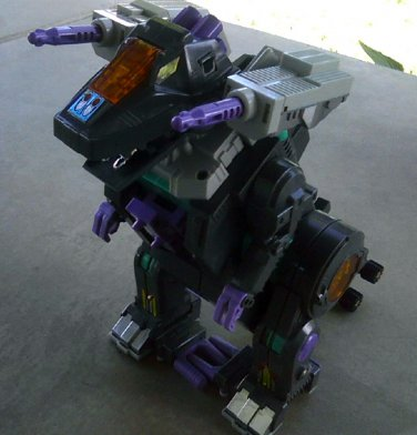 Transformers G1 Trypticon 1986 lot + Decepticon City Vintage Toy [Electronics Work]