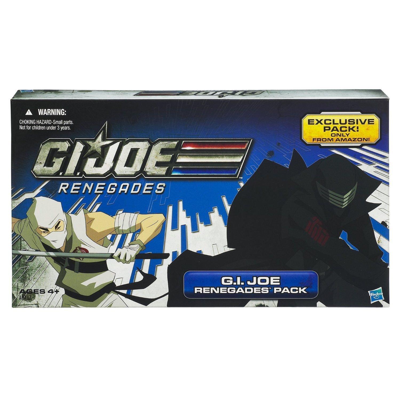 Gi Joe Cobra 30th 4-Pack 2012 Amazon Renegades: Snake Eyes, Storm Shadow, Duke, Red Ninja Viper