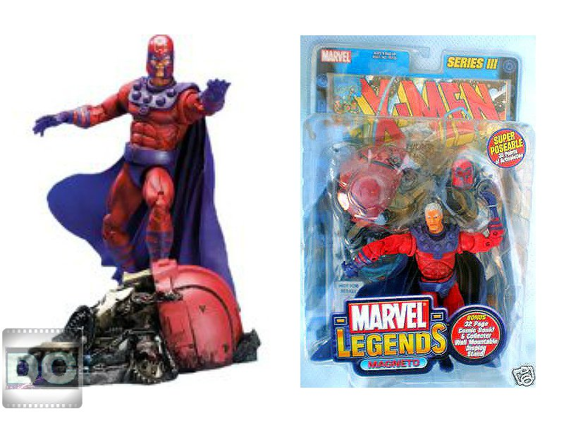 "(DCC70158) Magneto Marvel Legends 6"" Toybiz 2002 Comic Series 3 III (Jim Lee X-Men Universe)"