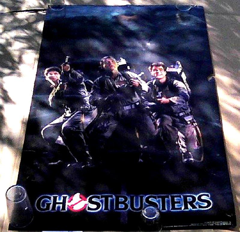 1984 Ghostbusters OG Movie Art Poster - Murray, Aykroyd, Ramis - Vintage