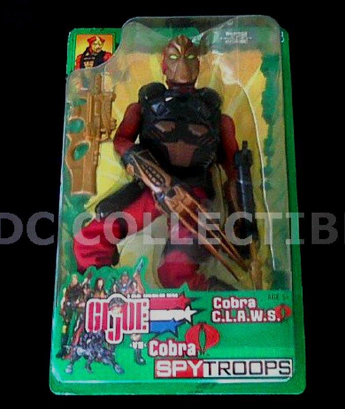 "12"" Gi Joe Cobra Claws Trooper 1/6 AF Spy Troops Hasbro 2003 [Sideshow Hot Toys]"