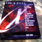X-Files OST (1998) Movie Art Poster [promo] (Snow, Mulder Scully • Duchovny Anderson) - Vintage