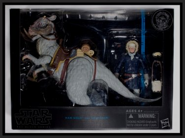 """Han Solo & Tauntaun Black Series 2015 Star Wars 6"""" Wave 2 Deluxe 1:12 Collector Figure MISB"""