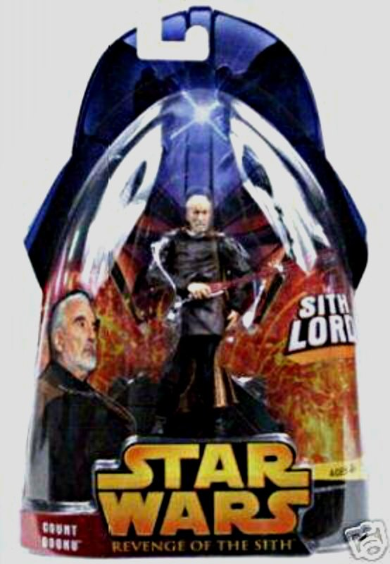 "Count Dooku Episode III rots 2005 Revenge/Sith| Star Wars 3.75"" action figure"