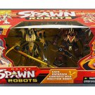 Manga Spawn vs. Samurai Warrior Robot 2-Pack Deluxe Boxed Set McFarlane Toys 2004