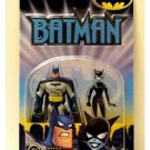 DCU B:TAS TNBA Catwoman vs Batman Animated Series 2-Pack Mattel 2002 New Adventures+JLU