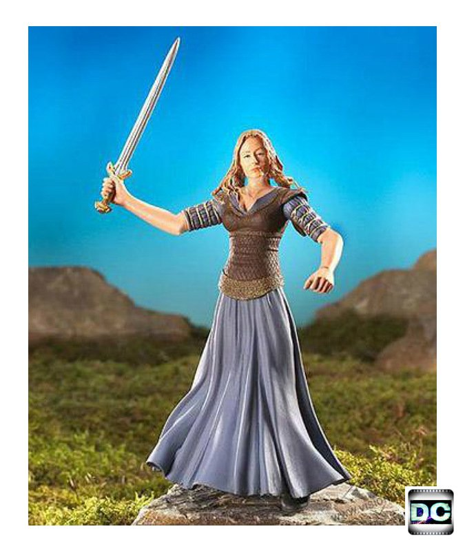 "ToyBiz LOTR #81117: Eowyn ""Maiden of Rohan"" Return of the King � Marvel 6"" � Gentle Giant"