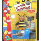 "The Simpsons WoS - Bumblebee Man 5"" figure, Playmates 2001 World of Springfield 199216"